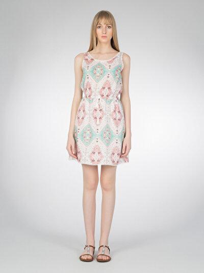 COLINS лосось женский платья<br>Пол: женский; Цвет: лосось; Размер INT: M;