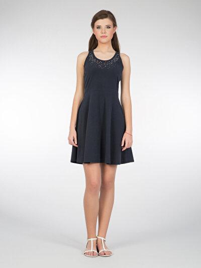 COLINS синий женский платья<br>Пол: женский; Цвет: синий; Размер INT: M;