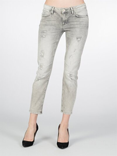 COLINS  женский брюки<br>Пол: женский; Цвет: сильвер вош; Размер INT: 25;