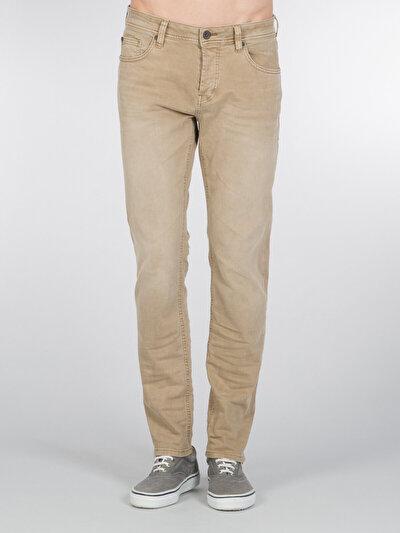 COLINS бежевый мужской брюки<br>Пол: мужской; Цвет: светлый верблюжий; Размер INT: 32/34;