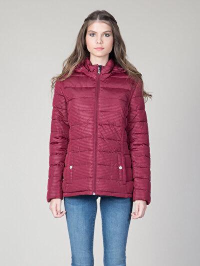 COLINS бордовый женский куртки<br>Пол: женский; Цвет: бордовый; Размер INT: L;