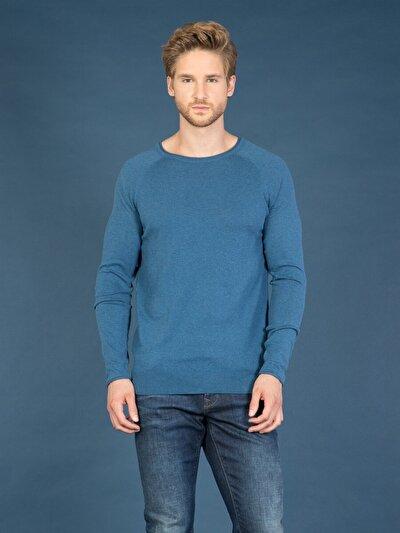 COLINS голубой <br>Пол: мужской; Цвет: голубой меланж; Размер INT: S;