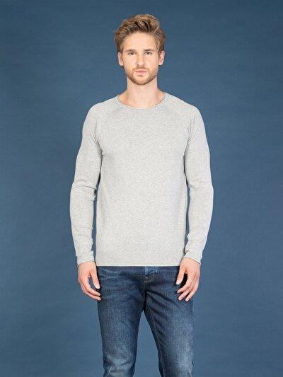 COLINS серый мужской свитеры<br>Пол: мужской; Цвет: смешанный серый; Размер INT: L;