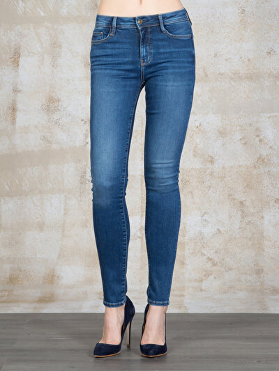 COLINS  женский брюки<br>Пол: женский; Цвет: мид роза уош; Размер INT: 27/30;