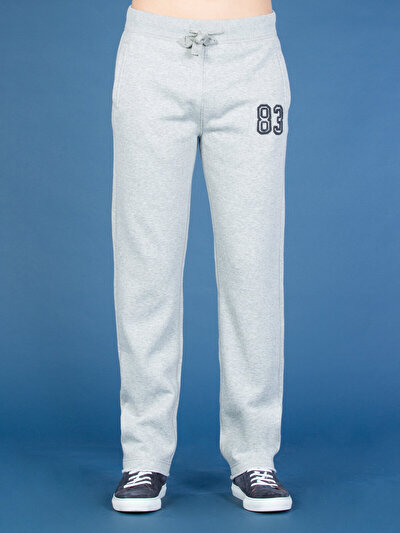 COLINS серый мужской спортивные брюки<br>Пол: мужской; Цвет: смешанный серый; Размер INT: S;