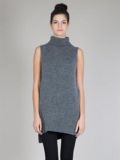 COLINS антрацит женский свитеры<br>Пол: женский; Цвет: смешанный антрацит; Размер INT: XS/S;