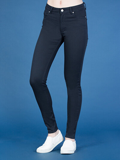 COLINS синий женский брюки<br>Пол: женский; Цвет: синий; Размер INT: 25/30;