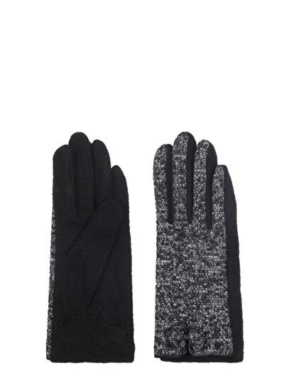 COLINS черный женский перчатки<br>Пол: женский; Цвет: черный; Размер INT: M/L;