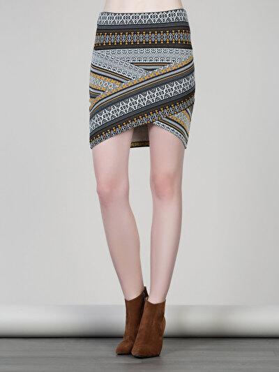 COLINS мульти женский юбки<br>Пол: женский; Цвет: мульти; Размер INT: L;