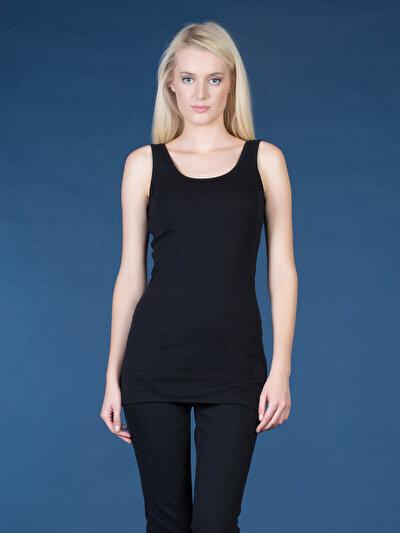 COLINS черный женский майки<br>Пол: женский; Цвет: черный; Размер INT: XS;