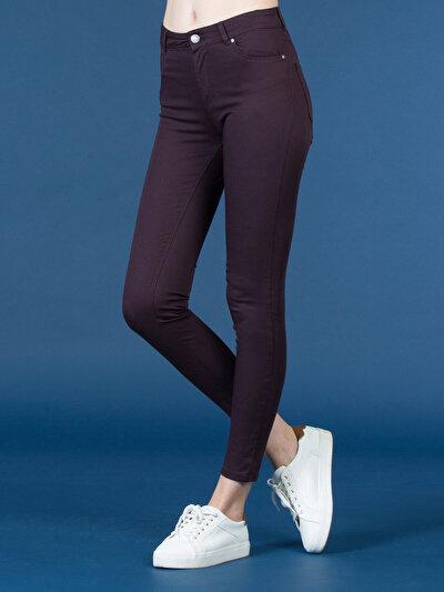 COLINS пурпурный женский брюки<br>Пол: женский; Цвет: сливовый; Размер INT: 28/28;