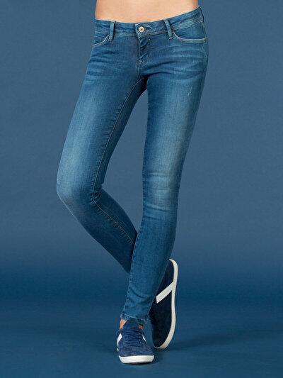 COLINS  женский брюки<br>Пол: женский; Цвет: сэра мытый; Размер INT: 25/30;