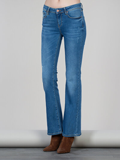 COLINS  женский брюки<br>Пол: женский; Цвет: ванда уош; Размер INT: 30/34;