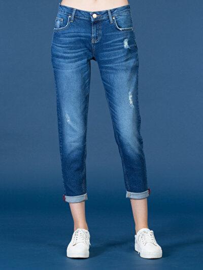 COLINS  женский брюки<br>Пол: женский; Цвет: мартэ уош; Размер INT: 25;