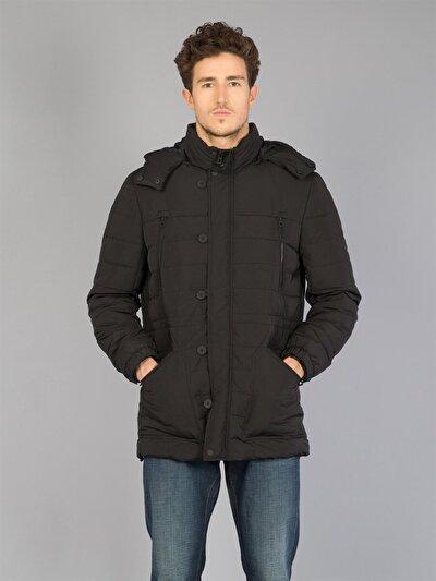 COLINS черный мужской пальто<br>Пол: мужской; Цвет: черный; Размер INT: XL;