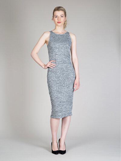 COLINS антрацит женский платья<br>Пол: женский; Цвет: смешанный антрацит; Размер INT: L;