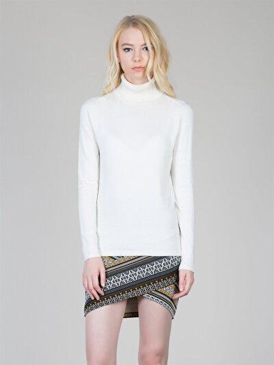 COLINS белый женский свитеры<br>Пол: женский; Цвет: белый; Размер INT: S;