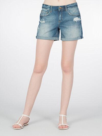 COLINS  женский шорты<br>Пол: женский; Цвет: мілі уош; Размер INT: 36;
