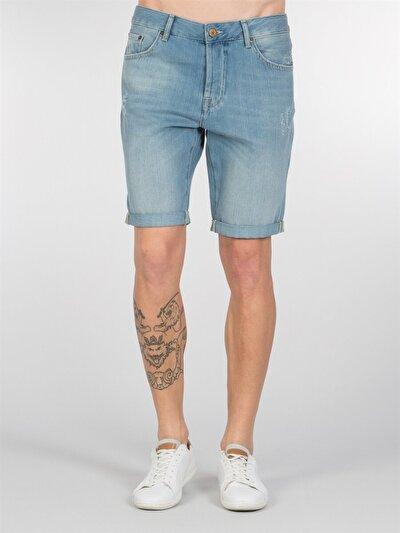 COLINS деним мужской шорты<br>Пол: мужской; Цвет: лайт хоук уош; Размер INT: L;