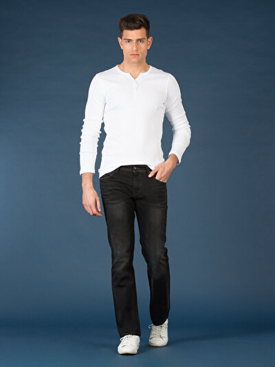 COLINS  мужской брюки<br>Пол: мужской; Цвет: блек арло уош; Размер INT: 28/32;