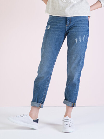 COLINS  женский брюки<br>Пол: женский; Цвет: мэйт уош; Размер INT: 28;
