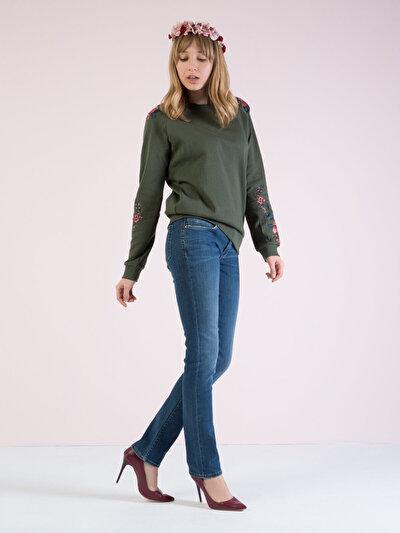 COLINS  женский брюки<br>Пол: женский; Цвет: доманик уош; Размер INT: 25/30;
