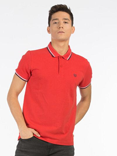 COLINS оранжевый мужской футболки-поло к. рукав<br>Пол: мужской; Цвет: оранжевый; Размер INT: XL;