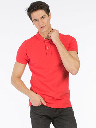 COLINS розовый мужской футболки-поло к. рукав<br>Пол: мужской; Цвет: расберри; Размер INT: M;