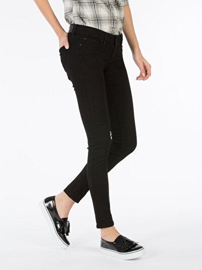 COLINS  женский брюки<br>Пол: женский; Цвет: блеки уош; Размер INT: 26/30;