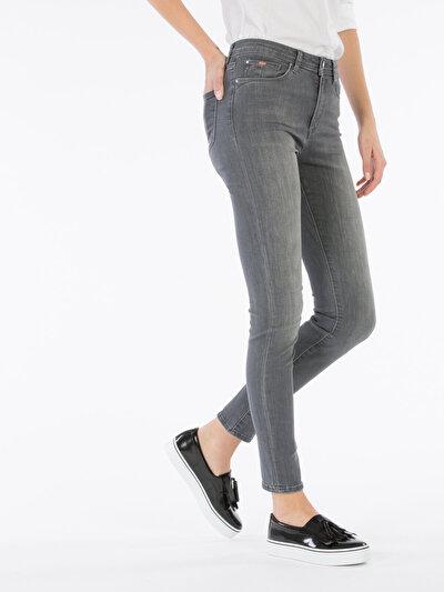 COLINS  женский брюки<br>Пол: женский; Цвет: белисса вош; Размер INT: 30/30;