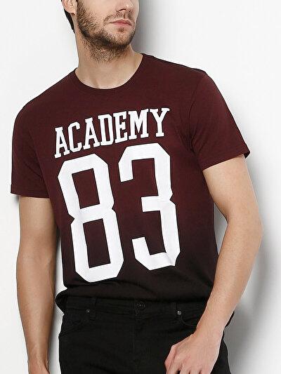 COLINS бордовый мужской футболки короткий рукав<br>Пол: мужской; Цвет: бордовый меланж; Размер INT: S;