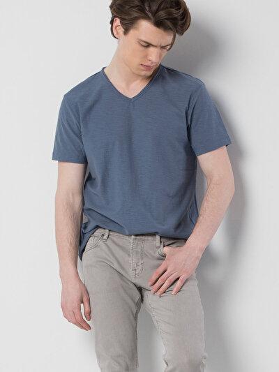 COLINS голубой <br>Пол: мужской; Цвет: индиго; Размер INT: S;