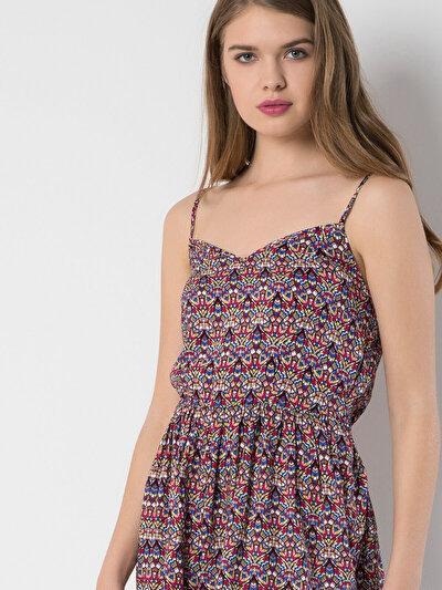 COLINS мульти женский платья<br>Пол: женский; Цвет: мульти; Размер INT: XS;