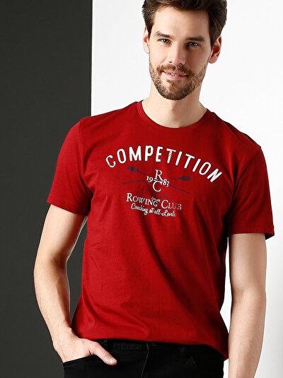 COLINS красный мужской футболки короткий рукав<br>Пол: мужской; Цвет: красный; Размер INT: XXL;