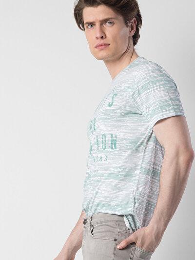 COLINS зеленый мужской футболки короткий рукав<br>Пол: мужской; Цвет: светло зеленый; Размер INT: XL;