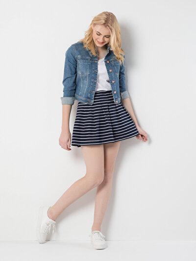 COLINS синий женский юбки<br>Пол: женский; Цвет: синий; Размер INT: L;