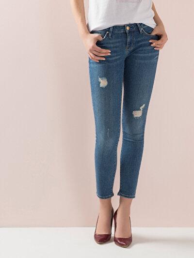 COLINS  женский брюки<br>Пол: женский; Цвет: уоррен уош; Размер INT: 28;