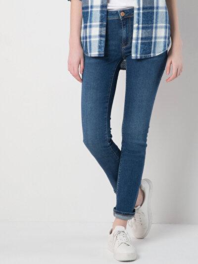 COLINS  женский брюки<br>Пол: женский; Цвет: ариа мытый; Размер INT: 26/30;