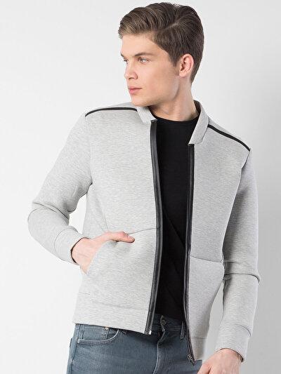 COLINS серый мужской куртки<br>Пол: мужской; Цвет: смешанный серый; Размер INT: M;