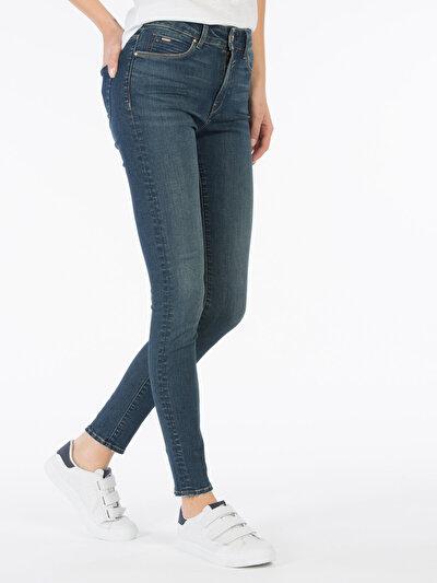 COLINS  женский брюки<br>Пол: женский; Цвет: батина уош; Размер INT: 27/30;