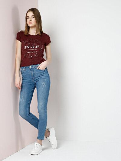 COLINS  женский брюки<br>Пол: женский; Цвет: джеуэл уош; Размер INT: 31;