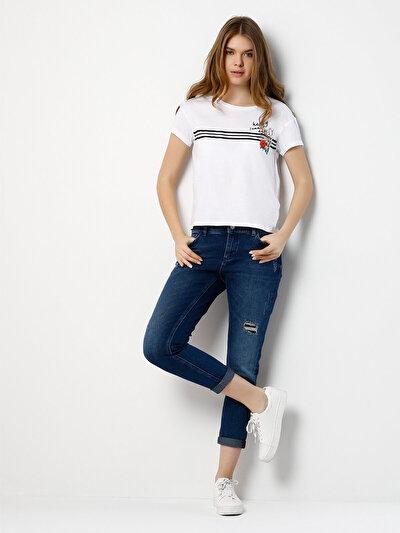 COLINS  женский брюки<br>Пол: женский; Цвет: криста уош; Размер INT: 26;