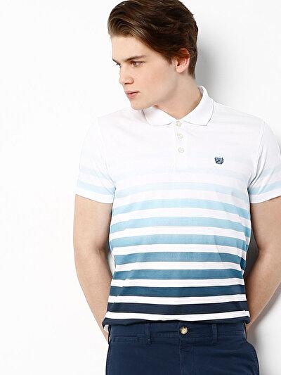 COLINS синий бирюзовый мужской футболки-поло к. рукав<br>Пол: мужской; Цвет: синий бирюзовый; Размер INT: XL;