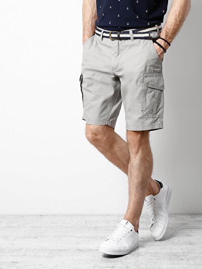 COLINS серый мужской шорты<br>Пол: мужской; Цвет: серый; Размер INT: S;