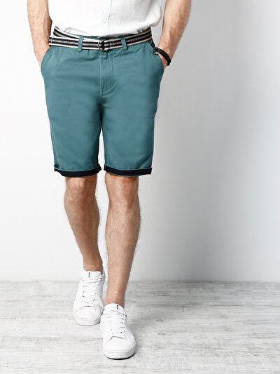 COLINS зеленый мужской шорты<br>Пол: мужской; Цвет: зеленый; Размер INT: L;