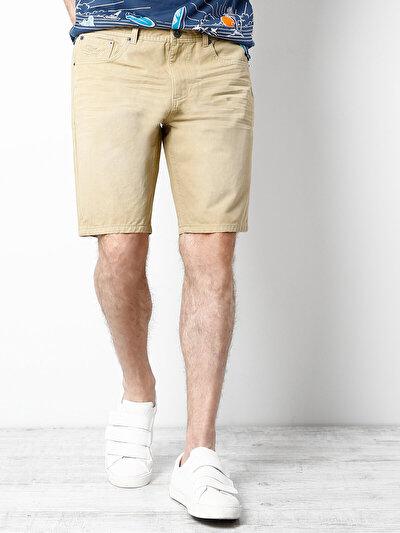 COLINS бежевый мужской шорты<br>Пол: мужской; Цвет: бежевый; Размер INT: S;