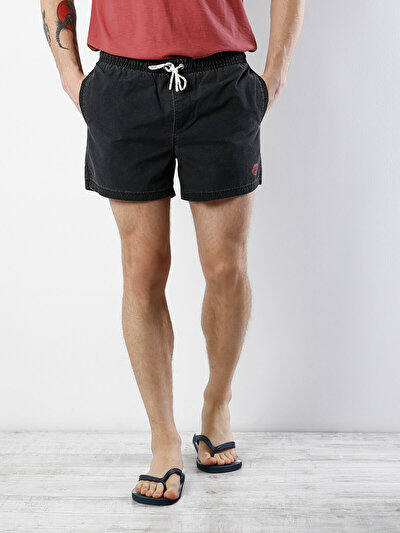 COLINS антрацит мужской пляжные шорты<br>Пол: мужской; Цвет: антрацит; Размер INT: L;