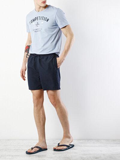 COLINS синий мужской пляжные шорты<br>Пол: мужской; Цвет: синий; Размер INT: S;