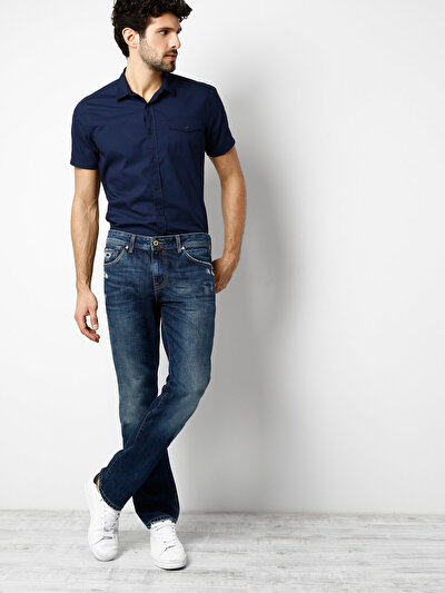COLINS  мужской брюки<br>Пол: мужской; Цвет: уорнер уош; Размер INT: 32/32;