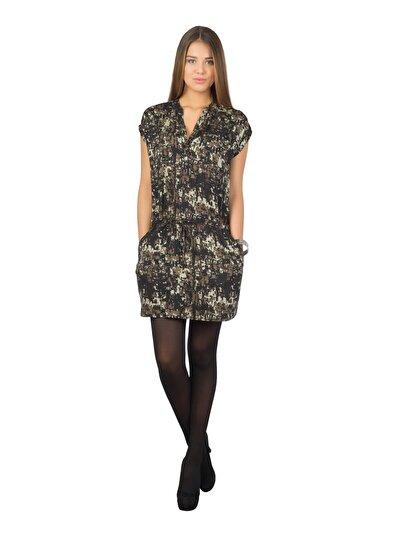 COLINS хаки женский платья<br>Пол: женский; Цвет: хаки; Размер INT: M;